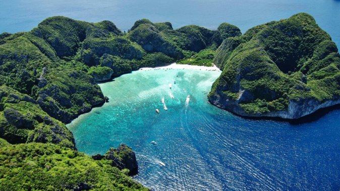 Phi Phi Island Maya Bay Bamboo Island by speedboat